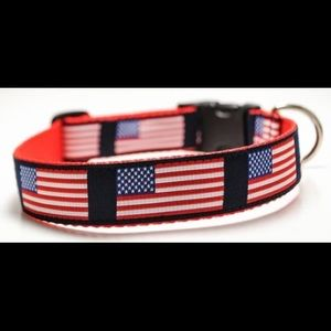 🇺🇸 USA Flag Dog Collar